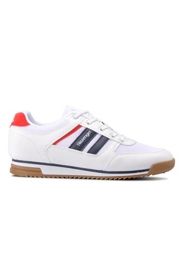 Slazenger Slazenger ACTIVE Sneaker Kadın Ayakkabı  Beyaz